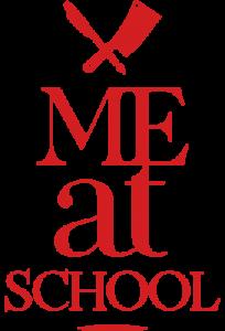 Meat me at School logo